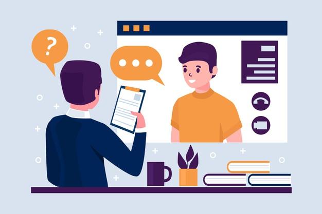 online job interview concept 23 2148628159