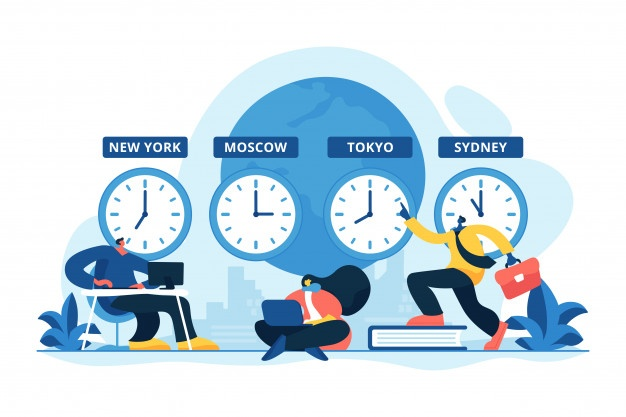 time zones concept vector illustration 107173 16699